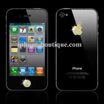 "Stickers OR & Strass (Bouton ""Home"" +  Logo Apple)"