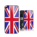 Vitre arrière drapeau anglais iphone 4