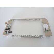 Châssis pour vitre tactile et lcd blanc iphone 3gs