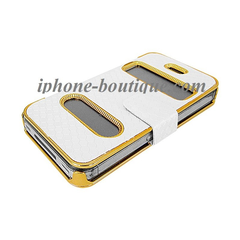 Coque etui housse gold iphone 4 et 4s for Etui housse iphone 4