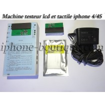 ★ iPhone 4/4S ★ Machine testeur écran lcd + tactile