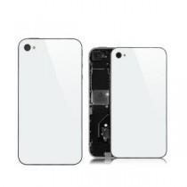 ★ iPhone 4 ★ Vitre Arrière BLANCHE