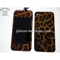 ★ iPhone 4 ★Kit complet (Avant-Arrière) LEOPARD