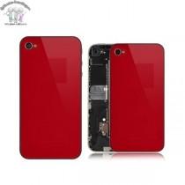 ★ iPhone 4S ★ Vitre arrière ROUGE