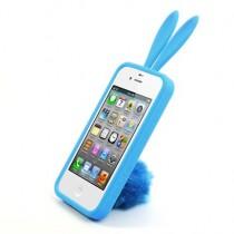 ★ iPhone 4/4S ★ Coque Rabito Bleue