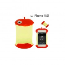 Coque en silicone Pomme - iPhone 4 / 4S