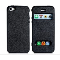 Etui de protection rabattable en plastique souple - iPhone 5 / 5S