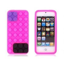 Coque Block en silicone Rose - iPhone 5 / 5S