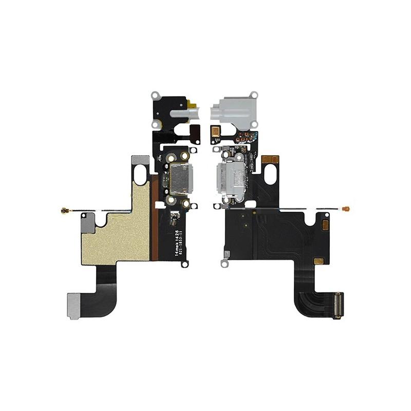 nappe connecteur de charge jack et audio gris iphone 6 iphone. Black Bedroom Furniture Sets. Home Design Ideas