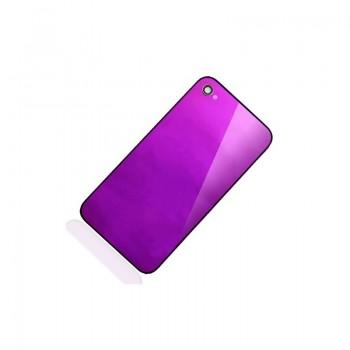 ★ iPhone 4S ★ Vitre arrière violet
