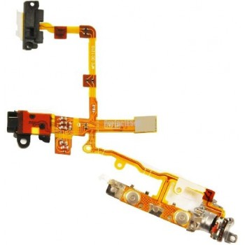 ★ iPhone 3G/3GS ★ Nappe jack, volume, mute et power prémonté