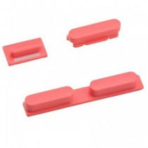 3 boutons: Power, mute, volume (rose) - iPhone 5C