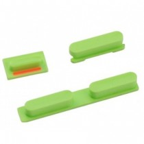3 boutons: Power, mute, volume (vert) - iPhone 5C