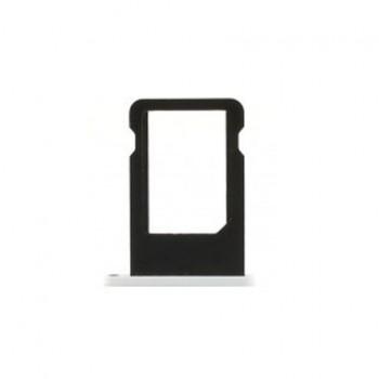 Slot support tiroir de nano carte SIM pour iphone 5C bleu