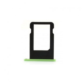 Slot support tiroir de nano carte SIM pour iphone 5C blanc