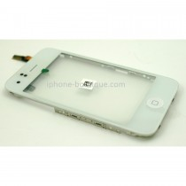 Chassis complet  vitre tactile blanche Ecouteur  Bouton home  support acier du LCD iphone 3gs