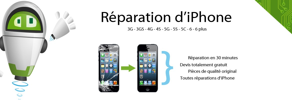 Réparation d'iPhone à la grande motte