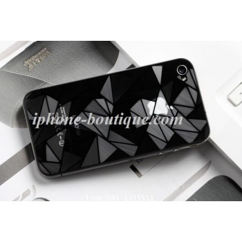 Film de protection 3D diamant av/arr iphone 4 et 4s