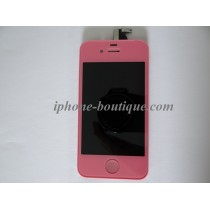 ★ iPhone 4 ★ Bloc Complet ROSE (Vitre tactile + écran LCD)