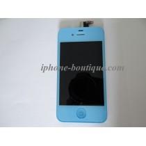 ★ iPhone 4 ★ Bloc Complet BLEU CIEL (Vitre tactile + écran LCD)
