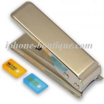 Kit découpeur Micro SIM (Cutter) avec deux adaptateurs