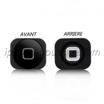 Bouton home noir iphone 5