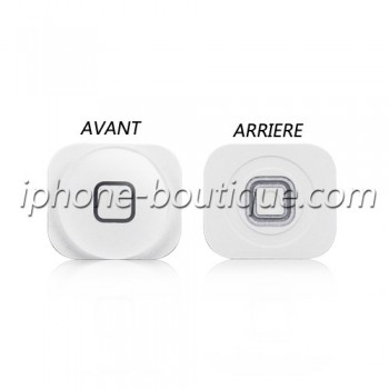 Bouton home blanc iphone 5