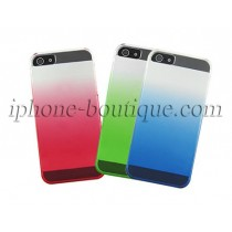 Coque de protection bleu,rouge ou verte iphone 5