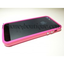 ★ iPhone 5,5S ★ Bumper blanc,noir,rose