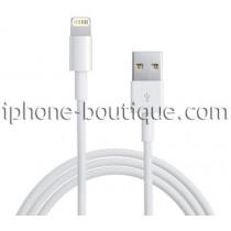 Câble blanc usb charge et synchronisation pour iphone