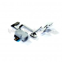 ★ iPhone 4 ★ Nappe prise jack volume mute vibreur blanche