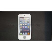 ★ iPod touch 5 ★ Coque de protection silicone blanc