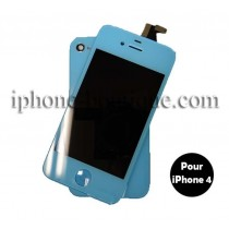 ★ iPhone 4 ★ Kit de transformation BLEU