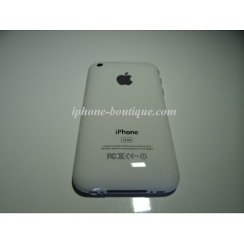 coque arriere semi complete blanche iphone 3g et 3gs