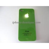 ★ iPhone 4 ★ Vitre arrière lumineuse VERTE