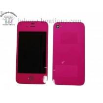 ★ iPhone 4 ★ Kit complet (Avant-Arrière) FUSHIA