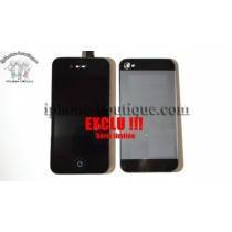 ★ iPhone 4S ★ Kit complet style iPhone 5,5C,5S av/arr noir