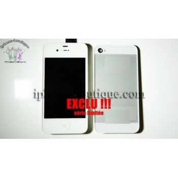 ★ iPhone 4S ★ Kit complet style iPhone 5 av/arr blanc