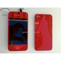 ★ iPhone 4S ★ Kit complet ROUGE