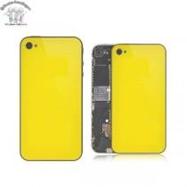 ★ iPhone 4 ★ Vitre arrière JAUNE