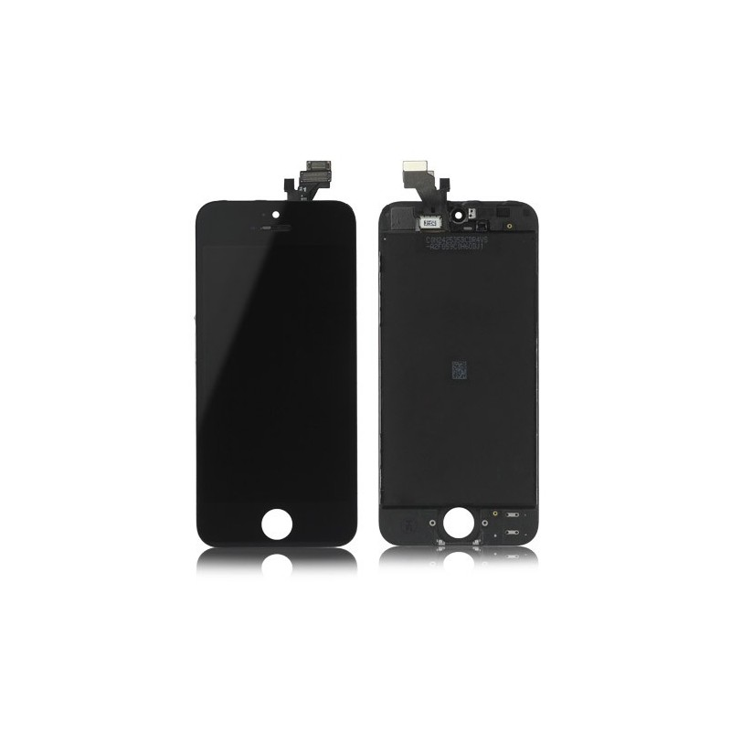 Ecran bloc complet cran iphone 5 noir for Ecran photo noir iphone 5