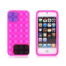 Coque Block en silicone Rose - iPhone 4 / 4S