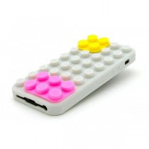 Coque Block en silicone Blanche - iPhone 4 / 4S