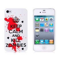 "Coque rigide ""Keep Calm and kill Zombies"" - iPhone 5 / 5S"
