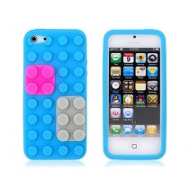 Coque Block en silicone Bleu ciel - iPhone 5 / 5S