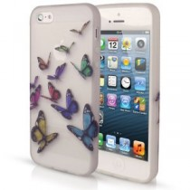 Coque Papillon en plastique rigide - iPhone 5 / 5S
