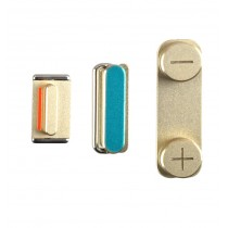 Boutons Mute, power et Vibreur couleur Champagne - iPhone 5S