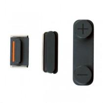 Boutons Mute, power et Vibreur couleur Noir - iPhone 5S