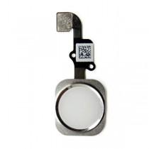 Nappe bouton home accueil active touch prémontée Gris - iPhone 6 et 6 plus