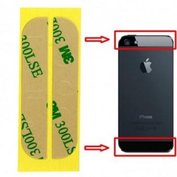 DOUBLE FACE COLLE STICKER VITRE ARRIERE IPHONE 5/5S 3M